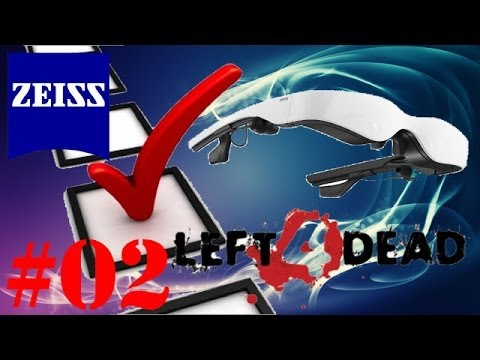 Hardware Check #02 - CarlZeiss Cinemizer OLED 3D-Multimedia Brille Spiel left 4 dead 2