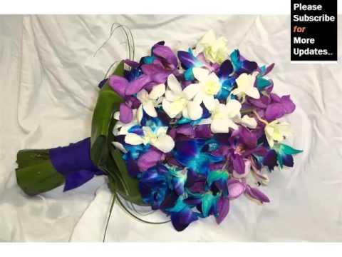 Ideas Of Blue Orchids Bouquet Romance