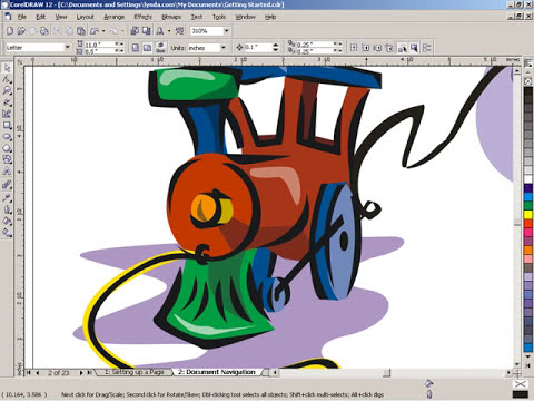 2 Basic Of Corel Draw X3.mov