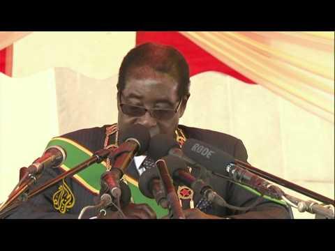 Mugabe says Zimbabwe elections free and fair
