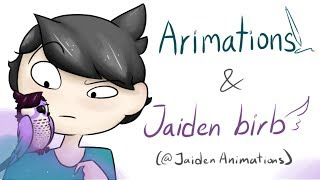 Youtuber as Animals || Jaiden birb and Arimations (Jaiden Animations)