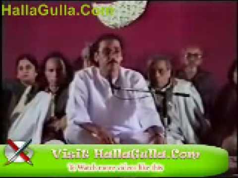 Mushaira   Nawaz Deobandi   Ghazal   HallaGulla Com clip0
