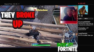 I Stream Sniped an ANGRY KID & HE BROKE UP WITH HIS GIRLFRIEND LIVE ON STREAM! Fortnite