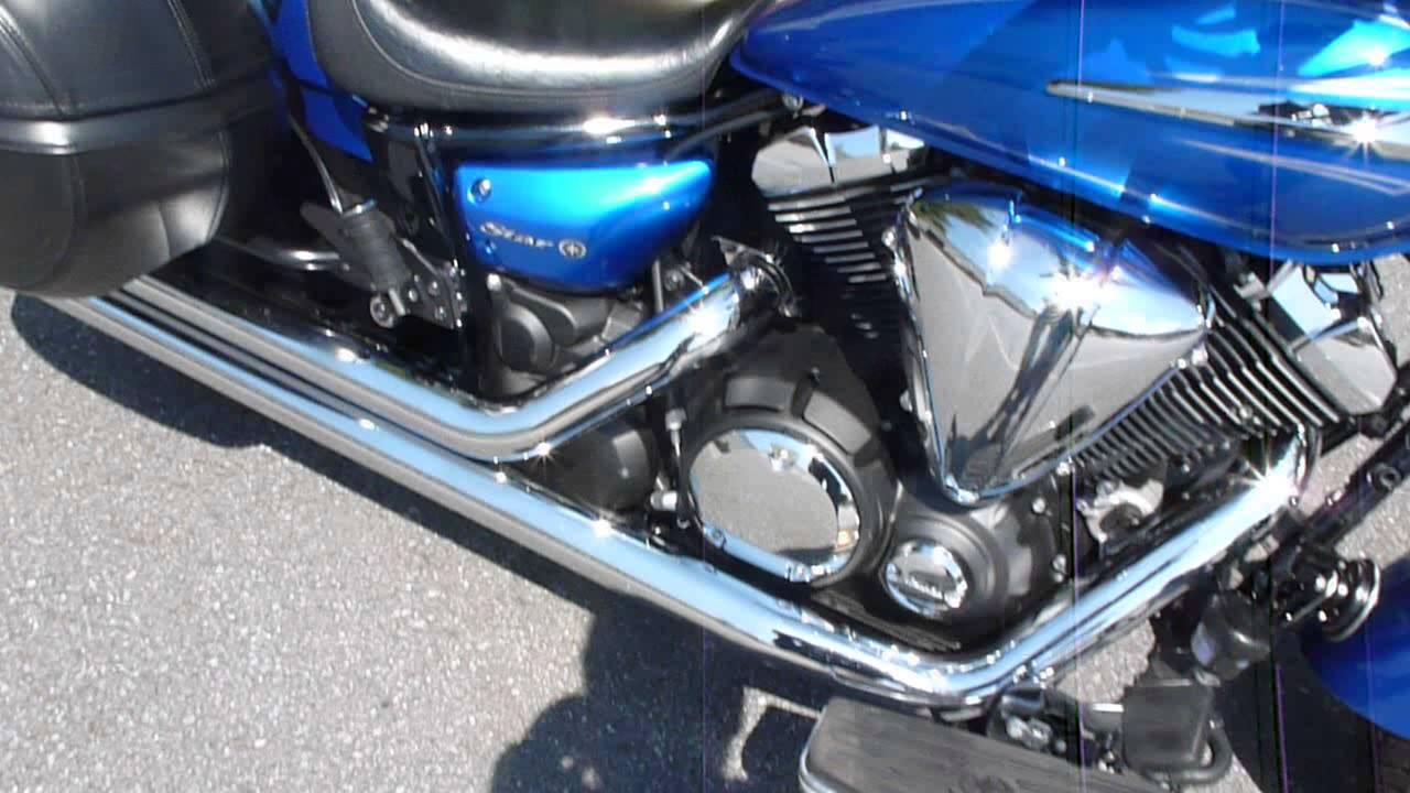 Blue Yamaha Bolt