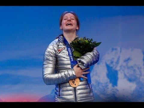 Stephanie Jallen takes bronze in Super-G at Sochi 2014