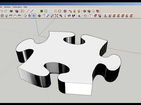 SketchUp: Import a JPG as Editable Geometry! thumbnail