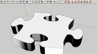 SketchUp: Import a JPG as Editable Geometry!