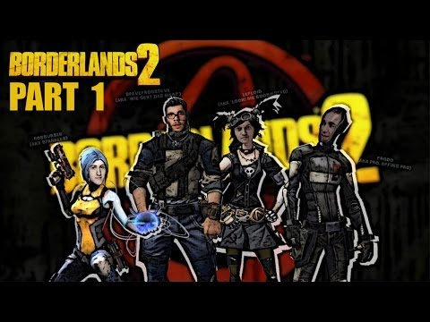 BORDERLANDS 2 - das Chaos LPT - PART 1 (twitch Session upload)