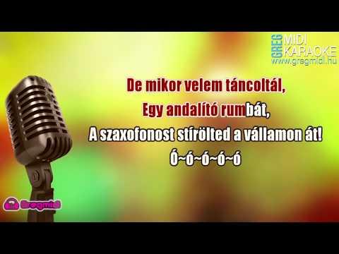 Hungária - Ciao Marina (Karaoke) demó