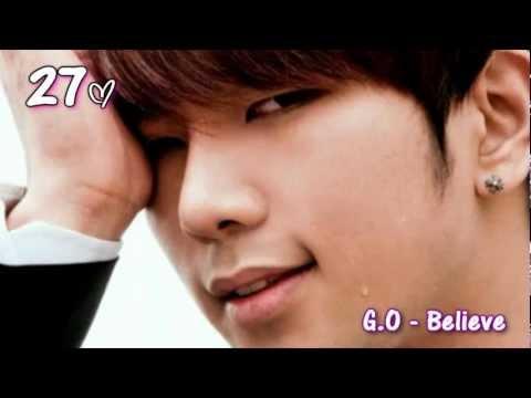 Top Kpop Ballads