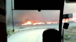 [Video] El impactante incendio en Torres del Paine