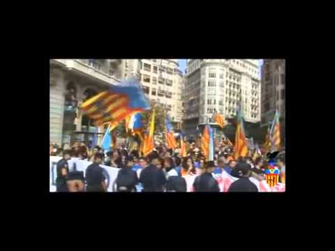 Occupy Together - Protests Against Catalan Imperialism