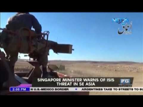 Singapore minister warns of ISIS threat in Southeast Asia