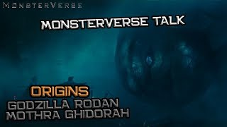 Download Lagu Ini Dia Origins Godzilla, Rodan, Mothra dan King Ghidorah | Monsterverse Talk Gratis Mp3 Pedia