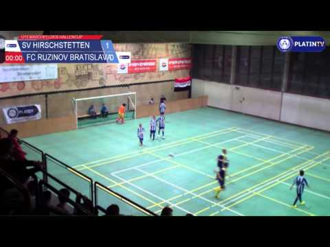 Tor -  SV Hirschstetten / FC Ruzinov Bratislava am 13.02.2016 18:40