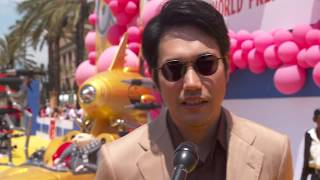 Despicable Me 3 World Premiere Los Angeles Interview Kenichi Matsuyama (official video)