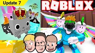 PET SIMULATOR UPDATE 7 New Update Gameplay (Codes?) Commentary Family Friendly Roblox Live 2018