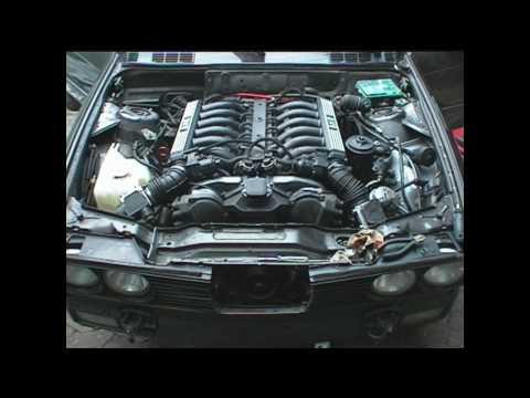 Bmw 350i Cabrio V12 - Erster Lauf -