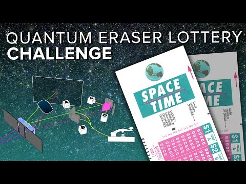 Quantum Eraser Lottery Challenge   Space Time   PBS Digital Studios