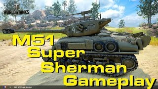 Games in the M51 Super Sherman - WORLD OF TANKS CONSOLE