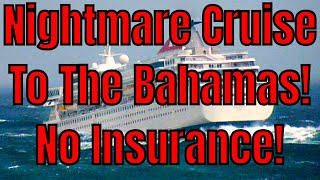 Nightmare Cruise To The Bahamas! Medicare Won't Cover Health Emergency