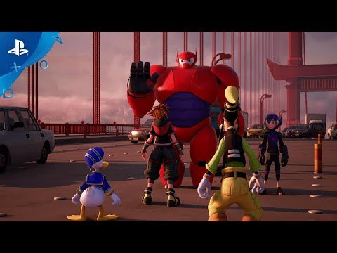 Kingdom Hearts III – Big Hero 6 Trailer | PS4