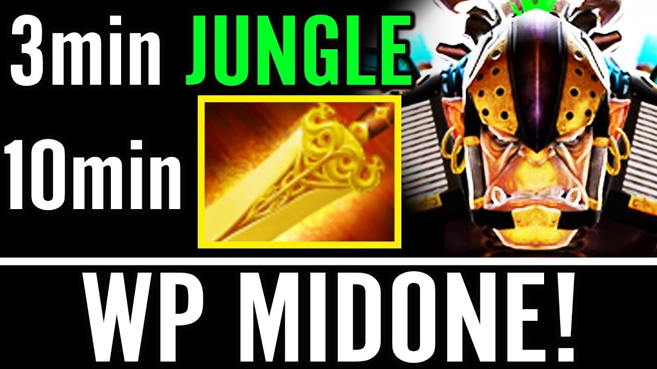 10Min Jungle Alchemist for Radian WP MidOne 10K MMR Carry Dota 2