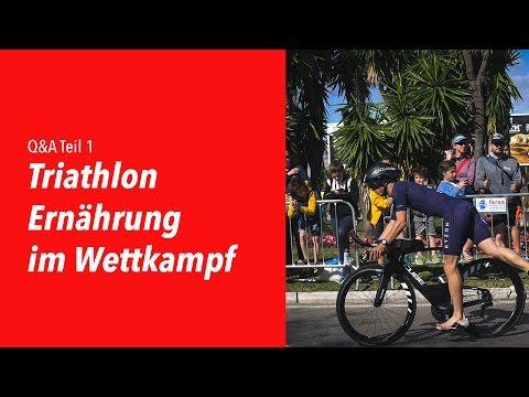 Q&A Teil 1: Triathlon Ernährung im Wettkampf.