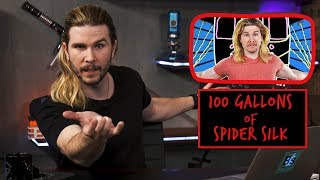 100 Gallons of Spider Silk | Because Science Footnotes