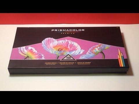 Prismacolor premier 150 set unboxing