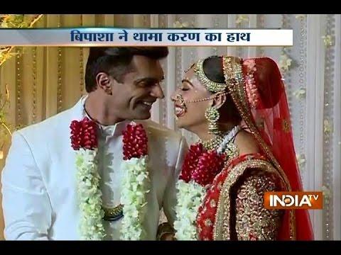Wedding bells for Newlyweds Bipasha Basu & Karan Singh Grover tie the knot