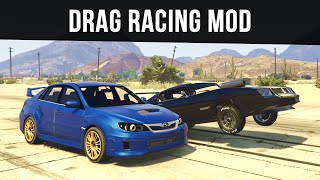 DRAG RACING MEETS (Car Wheelies & Real Cars) | GTA 5 PC Mods
