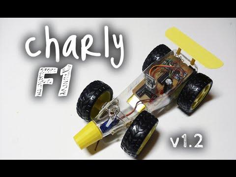 Charly F1 v1.2 - Autito RC Bluetooth con Arduino