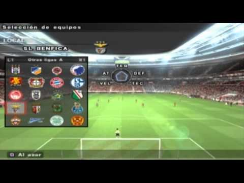 PES 2014 PS2 Menu & Teams HD