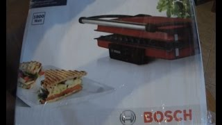 GoPro: Unboxing Bosch TFB4402V Contact Grill