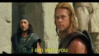 remember me song troy with lyrics on screen and sences form the movie