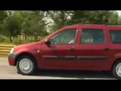 Тест драйв  Dacia Logan MCV, часть 1