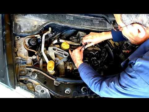 demontage et montage injecteur dci renault-dismantling and assembling injector dci renault