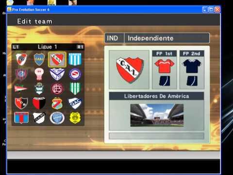 descargar parche para pes 6 liga argentina 2012 pc 1 link