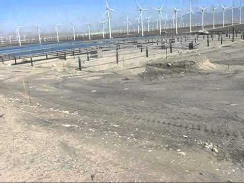 Travel Atmosphere - Solar energy development near Desert Hot Springs, CA