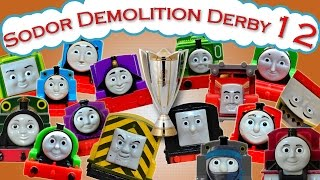 Sodor Demolition Derby 12 | Thomas and Friends Trackmaster | Last Engine Standing