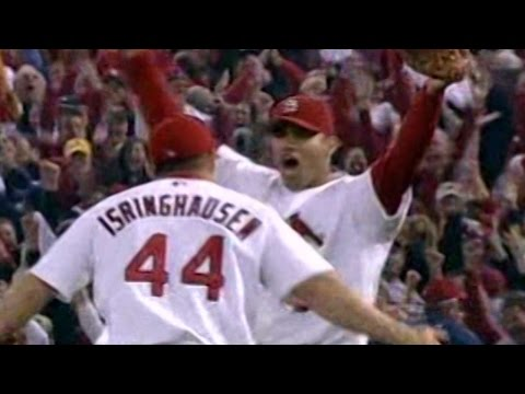 10/21/04: Cardinals win their first National League pennant since 1987 and advance to the World Series Check out http://m.mlb.com/video for our full archive of videos, and subscribe on YouTube...