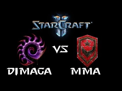 StarCraft 2 - DIMAGA [Z] vs MMA [T] (Commentary)