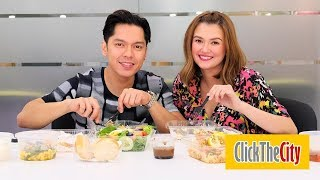 Interview with the Hungry: Carlo Aquino and Angelica Panganiban | ClickTheCity