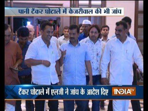 Delhi Tanker Scam: LG Najeeb Jung Orders Probe against Sheila Dikshit, Kejriwal