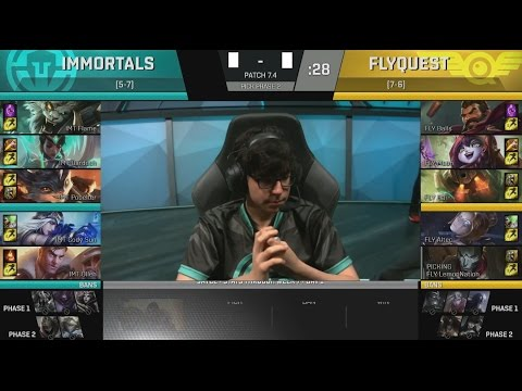 IMT (Olleh Karma) VS FLY (Moon Graves) Game 2 Highlights - 2017 NA LCS Spring W7D2