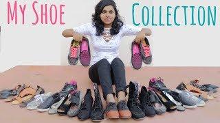 My Shoe Collection 2017 - Sneakers, Flats, Sandals, Heels etc | AdityIyer