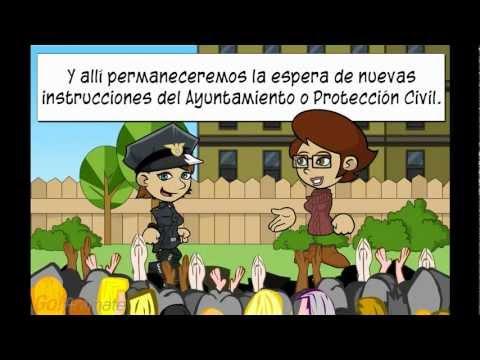 Simulacro de Evacuación en caso de Terremoto o Incendio IES Ortega y Rubio de Mula