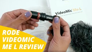 Rode Videomic Me L Review