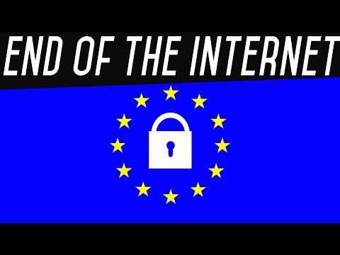 The End of the Internet… Death by Article 13 Law